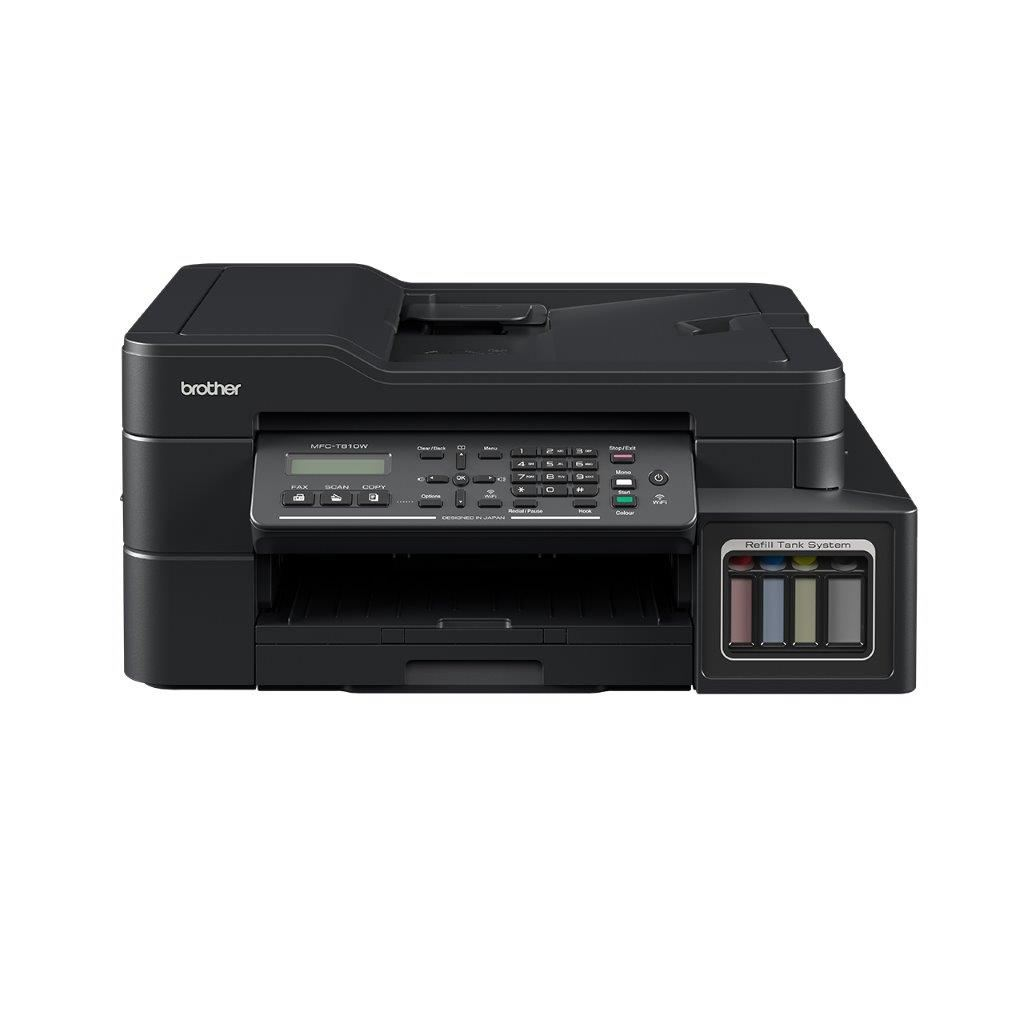 BROTHER MFC-T810W Color Inkjet Tanklı MFP Fakslı WiFi 27PPM A4 Yazıcı
