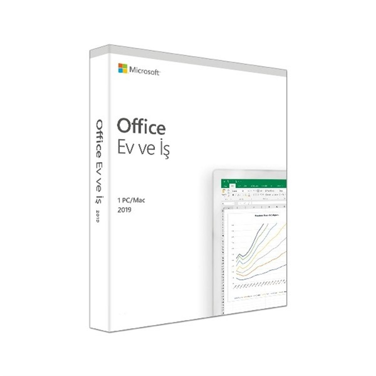MS OFFICE 2019 HOME AND BUSINESS TURKCE KUTU