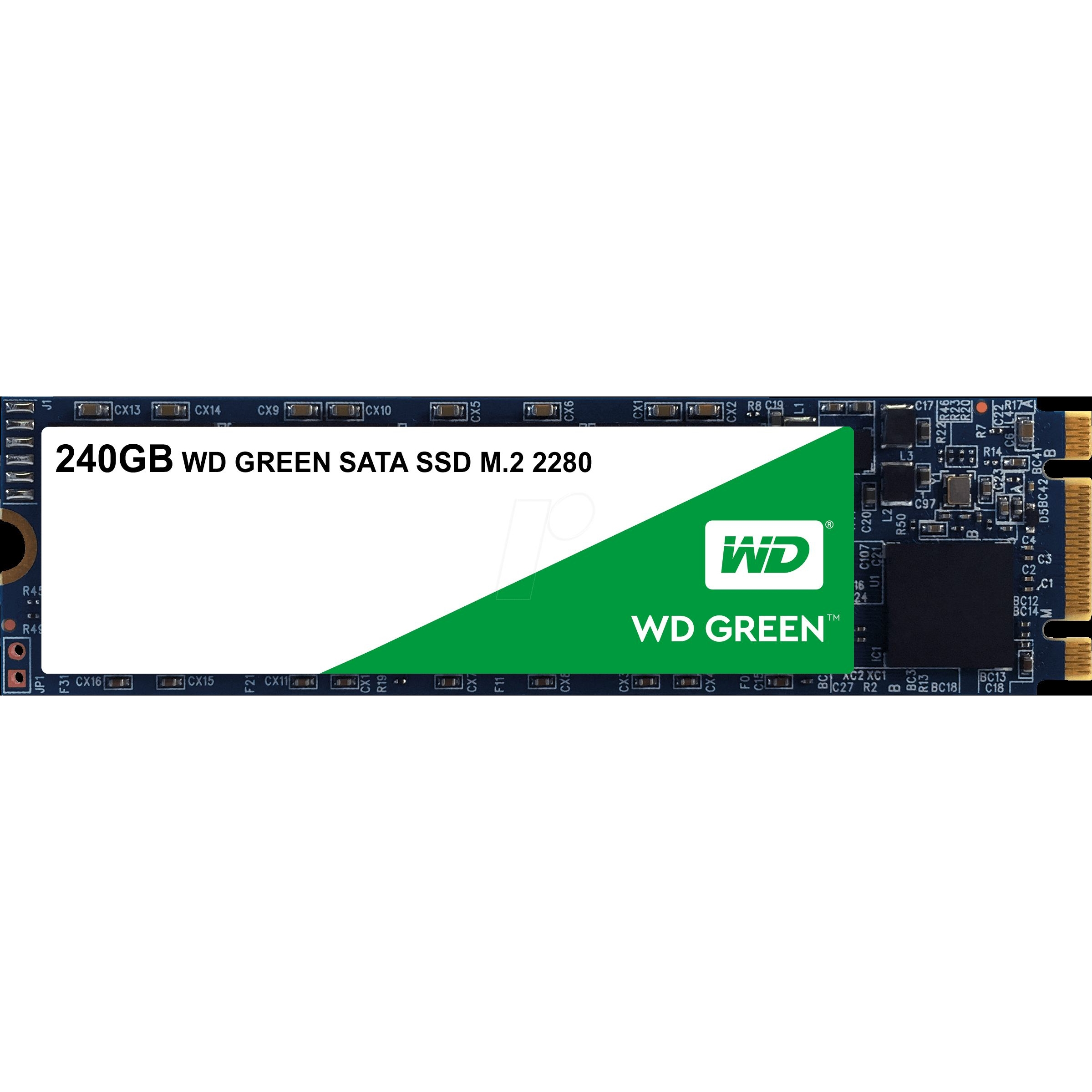 WD WDS240G2G0B 240GB Green m.2 Sata 540/465 Flash SSD