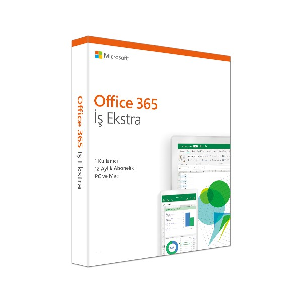 MS OFFICE 365 BUSINESS PREMIUM TURKCE KUTU 1 YIL KLQ-00437