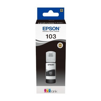 EPSON C13T00S14A ORJINAL 103 ECOTANK BLACK İNK BOTTLE