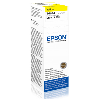 EPSON C13T66444A KARTUS-YELLOW 70ML/L550/L200/L220/L355/L365