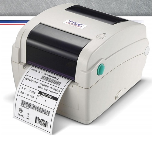 TSC 203dpi 102mm/s TTP-244CE Thermal Transfer USB,Seri,Paralel,Ethernet Barkod Yazıcı 25/108mm