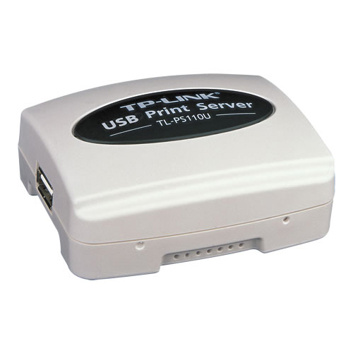 TP-LINK TL-PS110U 10/100 1 Port USB Print Server