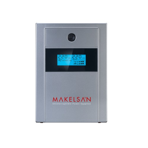 MAKELSAN 1000VA LION PLUS LINE INTERACTIVE LCD EKRAN UPS