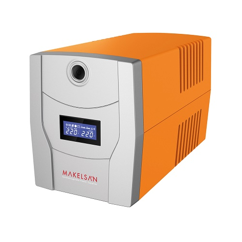 MAKELSAN 1500VA LION PLUS LINE INTERACTIVE LCD EKRAN UPS