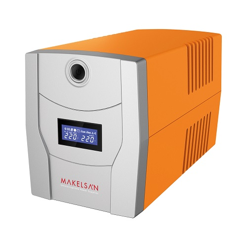 MAKELSAN 2200VA LION PLUS LINE INTERACTIVE LCD EKRAN UPS