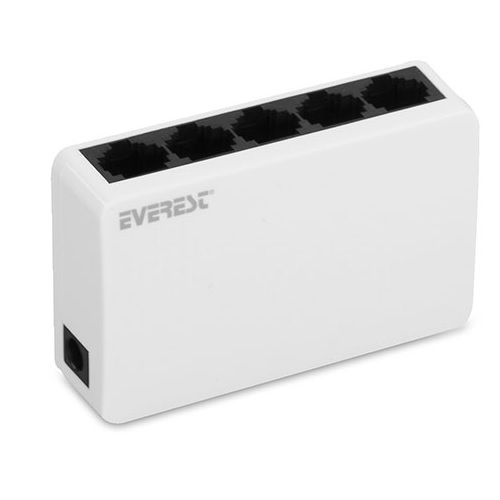 EVEREST 5port ESW-105 10/100 Yönetilemez Switch Masaüstü
