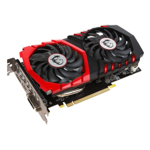 MSI GTX1050Ti 4GB GAMING X 4G DDR5 128bit HDMI DVI DP PCIe 16X v3.0