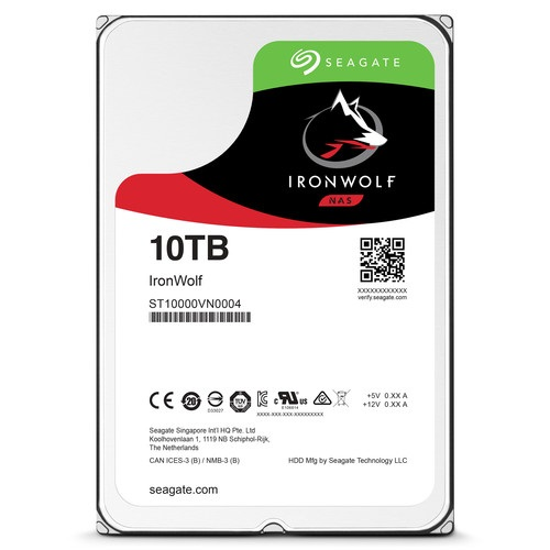 SEAGATE IRONWOLF ST10000VN0004 10TB 3.5