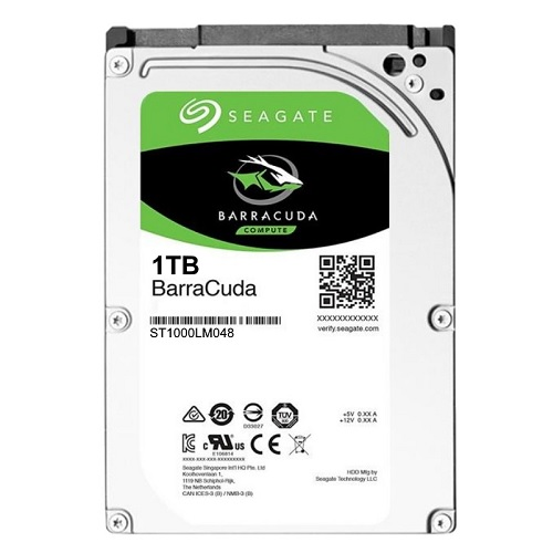 "SEAGATE 2,5"" 1tb ST1000LM048 5400rpm 128mb Sata III Notebook Harddisk"