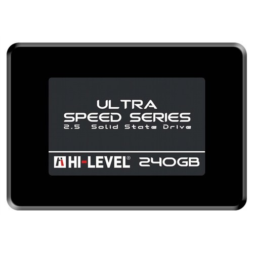 HI-LEVEL 240GB HLV-SSD30ULT/240G 550- 530MB/s SSD SATA-3 Disk