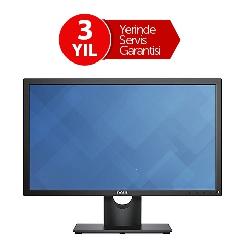 "DELL 21.5"" LED E2216HV 5MS 60Hz EV Ofis Tipi Monitör (1920 X 1080)"