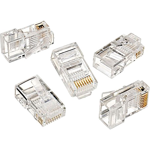 Speed cat5 utp sp-u100 rj45 100lü paket plastik konnektör