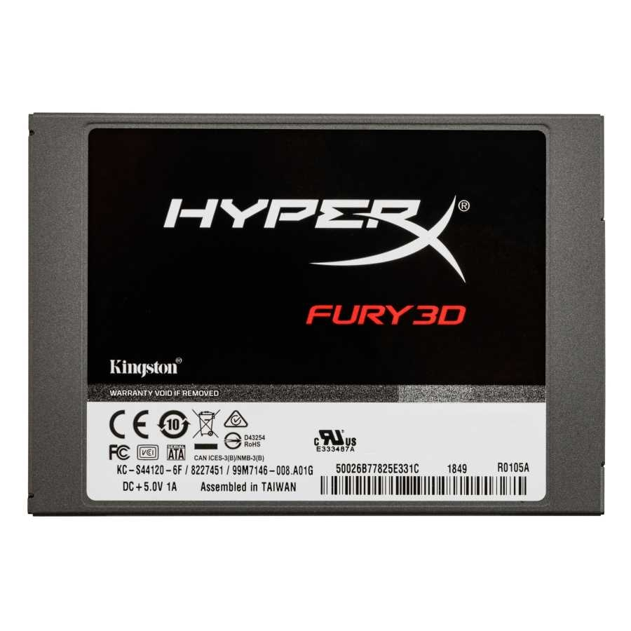 "KINGSTON 240GB 2.5"" 500-500MB/s SATA3 SSD DİSK HyperX FURY KC-S44240-6F"
