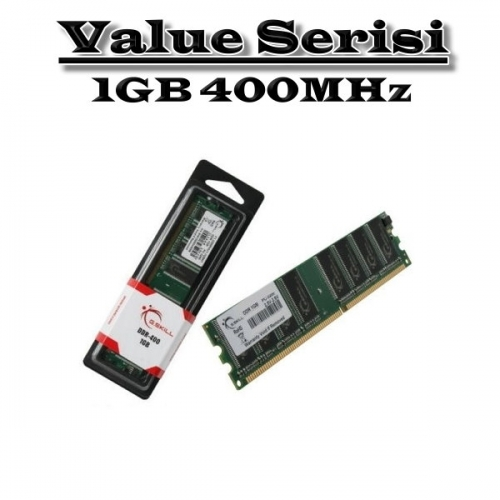 GSKILL 1GB DDR1 400MHZ PC RAM VALUE F1-3200PHU1-1GBNT