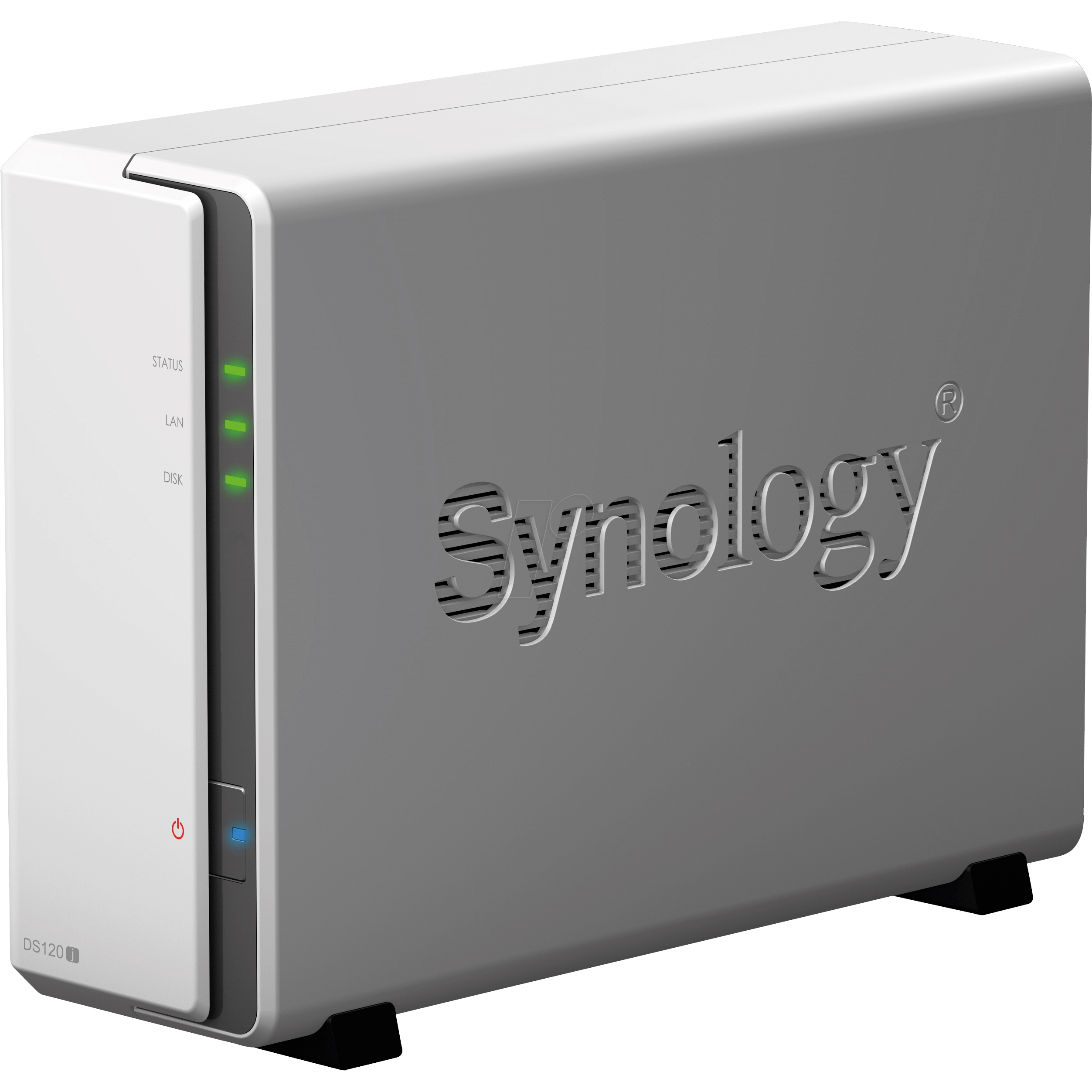 SYNOLOGY DS120J MARVELL DC- 512 MB RAM- 1-diskli Nas Server (Disksiz)