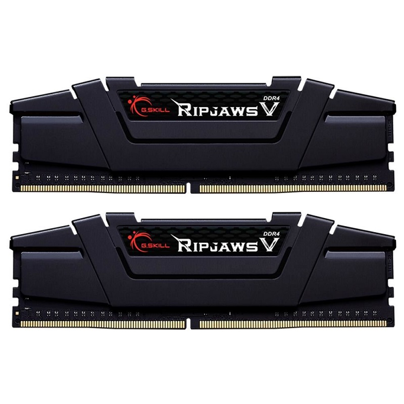 GSKILL 16GB (2X 8GB) DDR4 3600MHZ CL18 DUAL KIT PC RAM RIPJAWS V F4-3600C18D-16GVK