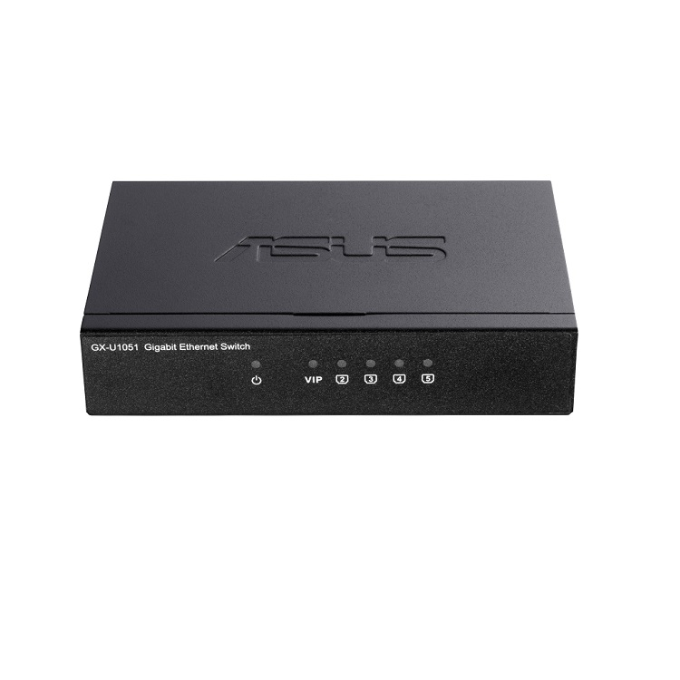 ASUS 5port GX-U1051 GIGABIT Yönetilemez Switch Masaüstü