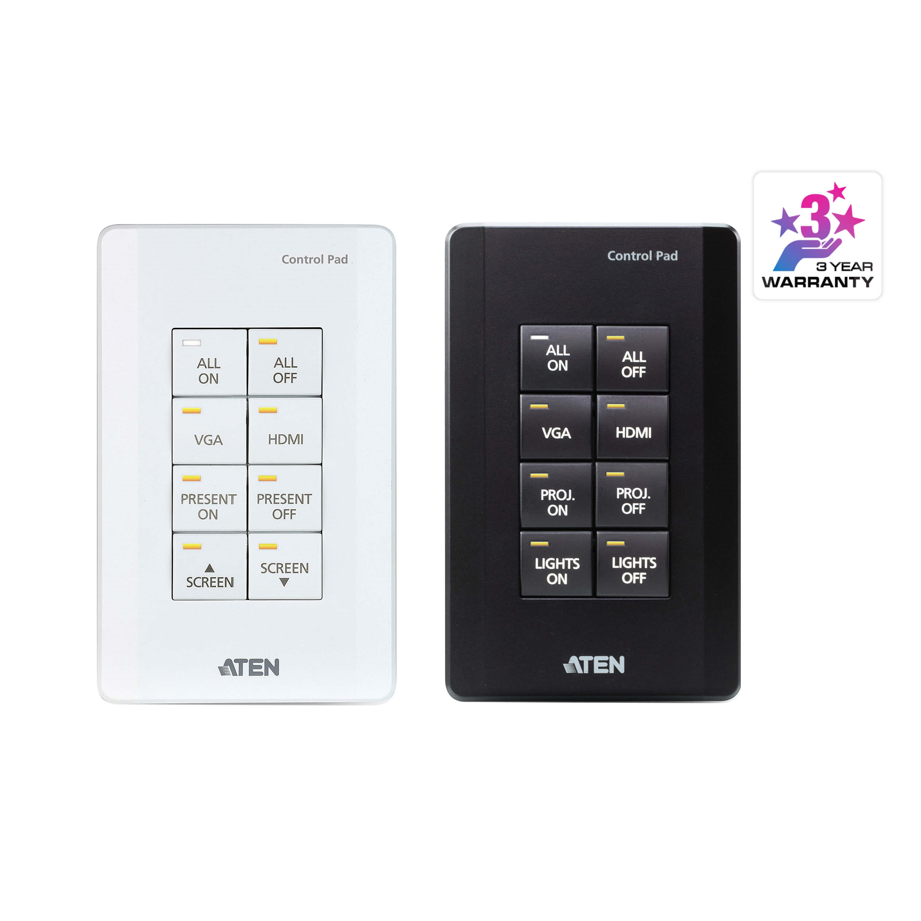 ATEN VK0100-AT CONTROL SYSTEM-8-BUTTON CONTROL PAD