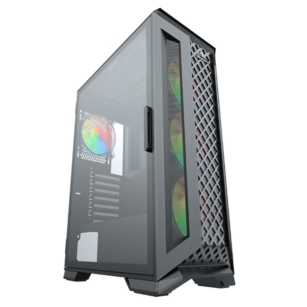GameBooster 600w 80+ GB-G5180B  GAMING ATX KASA SIYAH