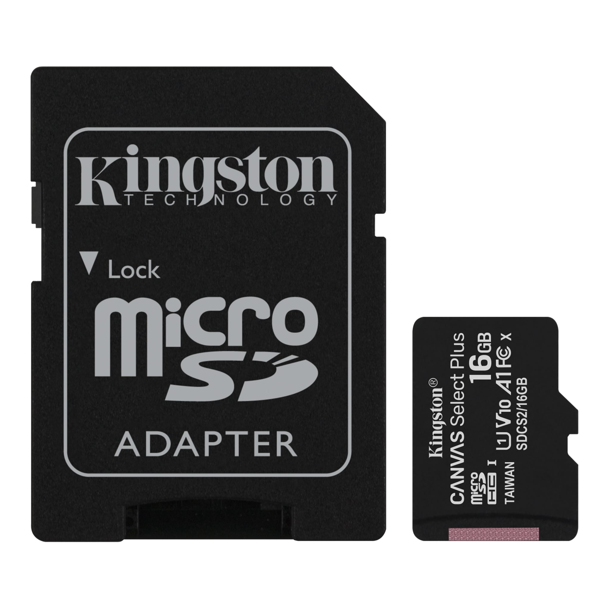 KINGSTON MicroSD 16GB Canvas Select Plus SDCS2/16GB Class10 Hafıza Kartı