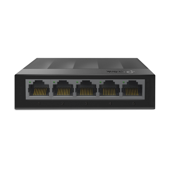 TP-LINK 5port LS1005G GIGABIT Yönetilemez Switch Masaüstü