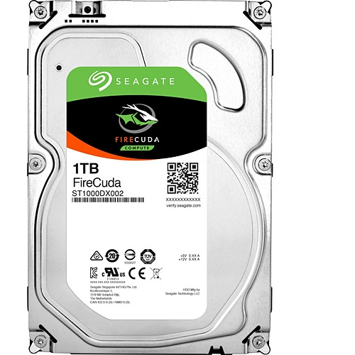 "SEAGATE FIRECUDA ST1000DX002 1TB 3.5"" 7200 RPM 64MB SATA-3 GAMING DİSK"