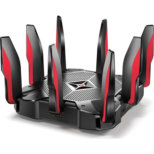 TP-LINK ARCHER C5400X 5400mbps AC5400 TRI Band EV Ofis Tipi Gaming Router