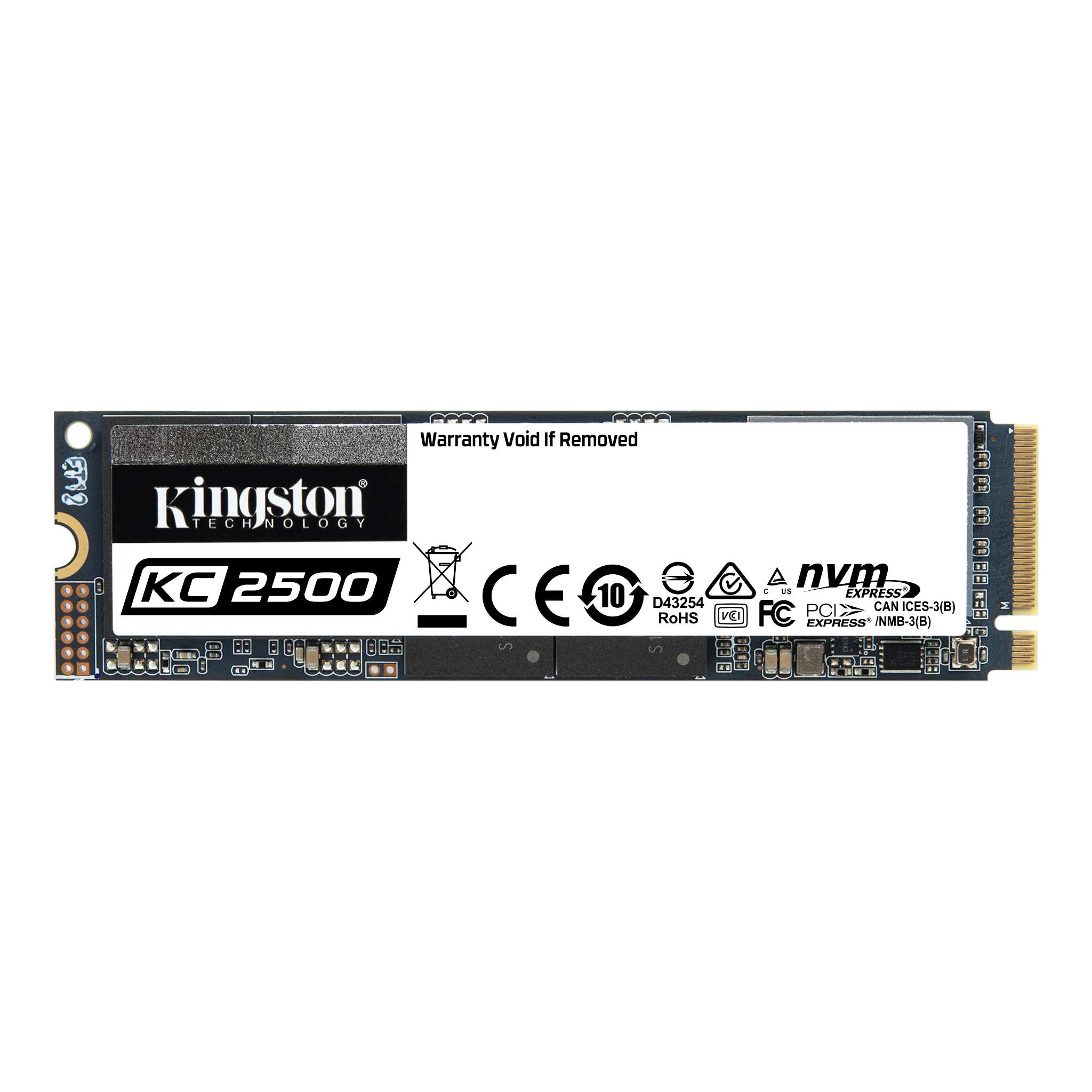 KINGSTON 250GB KC2500 SKC2500M8/250G 3500- 1200MB/s M2 PCIe NVME Kurumsal Disk