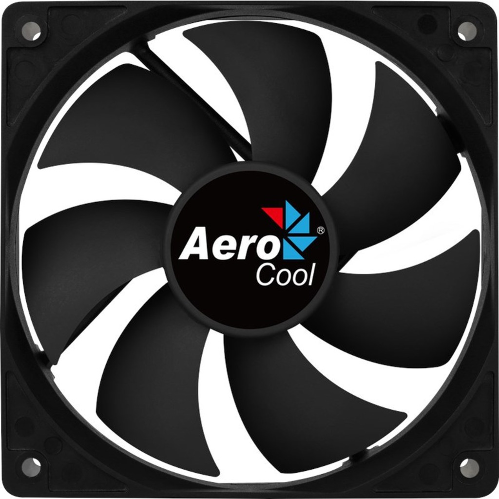 AEROCOOL FORCE AE-CFFR120PBK 4pin 120mm Kasa Fanı