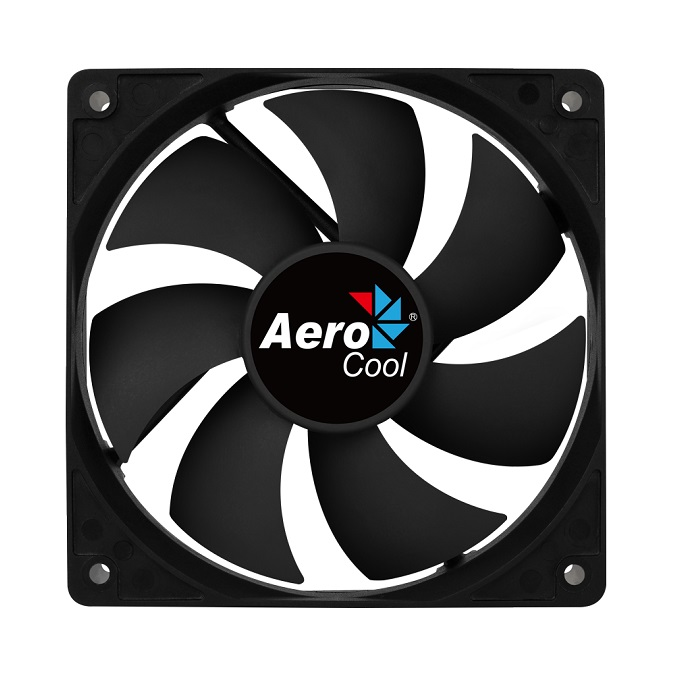 AEROCOOL 120mm FORCE AE-CFFR120BK 3pin SİYAH KASA FANI