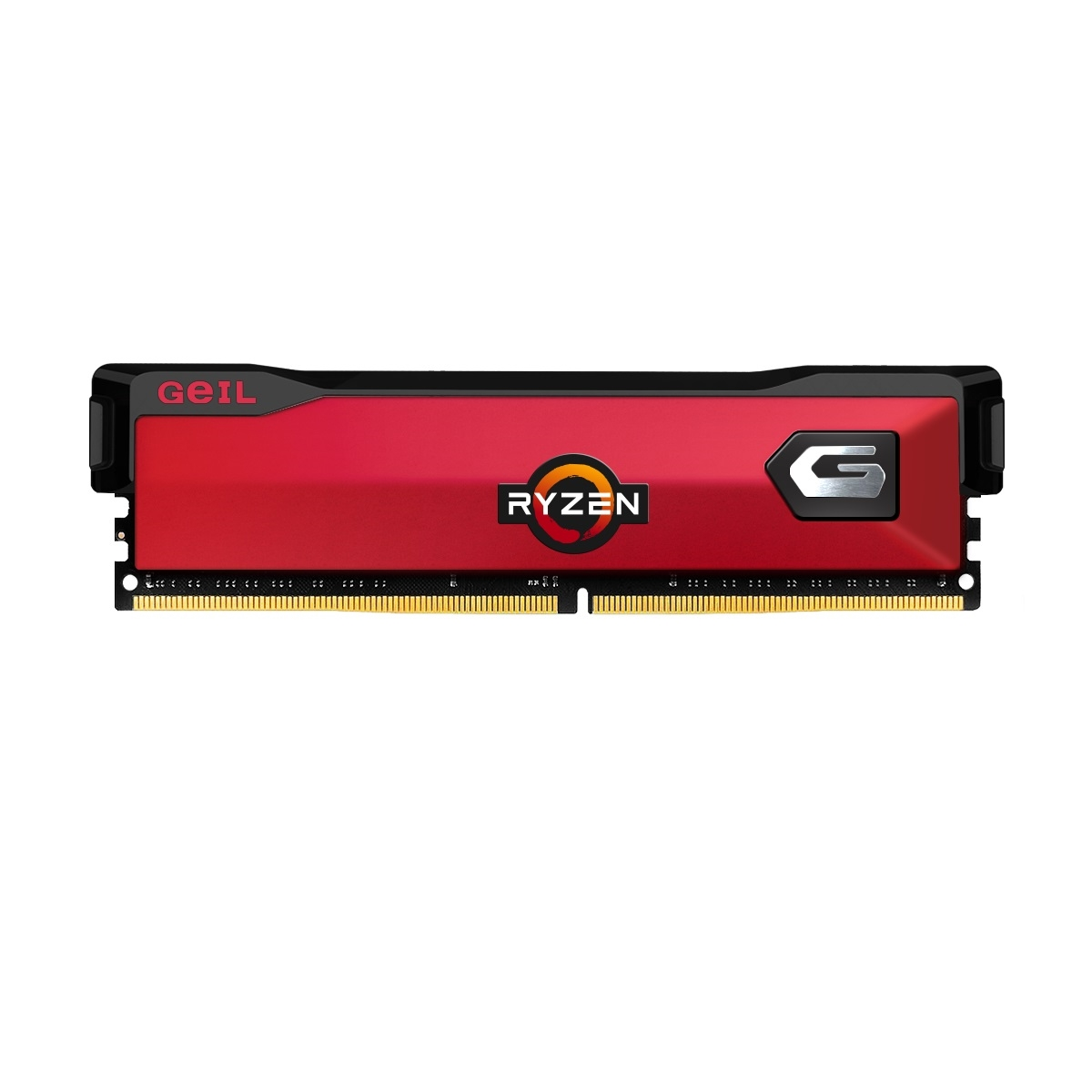 GEIL 8GB DDR4 3000MHZ CL16 PC RAM ORION RED GAOR48GB3000C16ASC