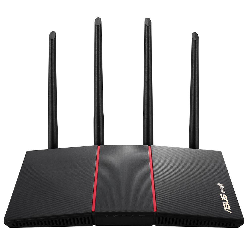 ASUS RT-AX55 1800mbps AX1800 Dual Band EV Ofis Tipi Router