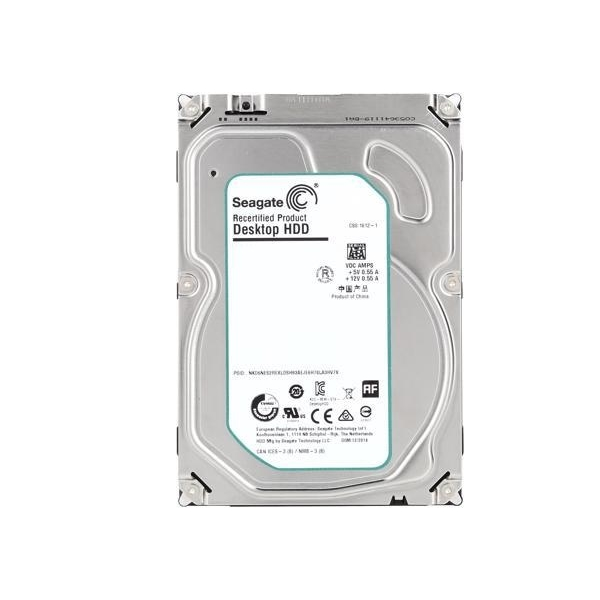 "SEAGATE BARRACUDA ST4000DM004 4TB 3.5"" 5900 RPM 256MB SATA-3 RECERTEFIED"