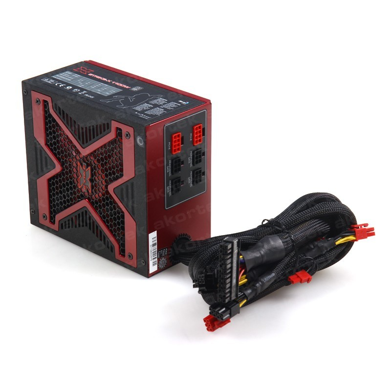 AEROCOOL 1100W 80 STRIKE-X 14cm Fanlı Aktif PFC Power Supply