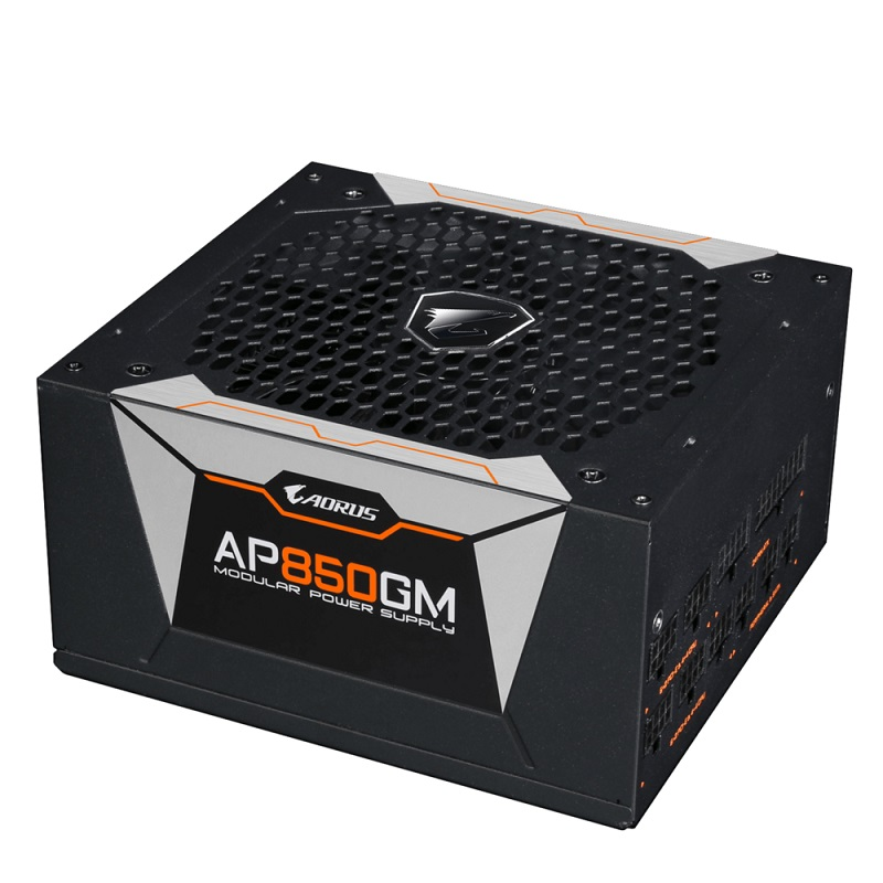 Gıgabyte 850w 80 gold aorus gp-ap850gm 13.5cm fanlı tam modüler power supply japon kapasitör