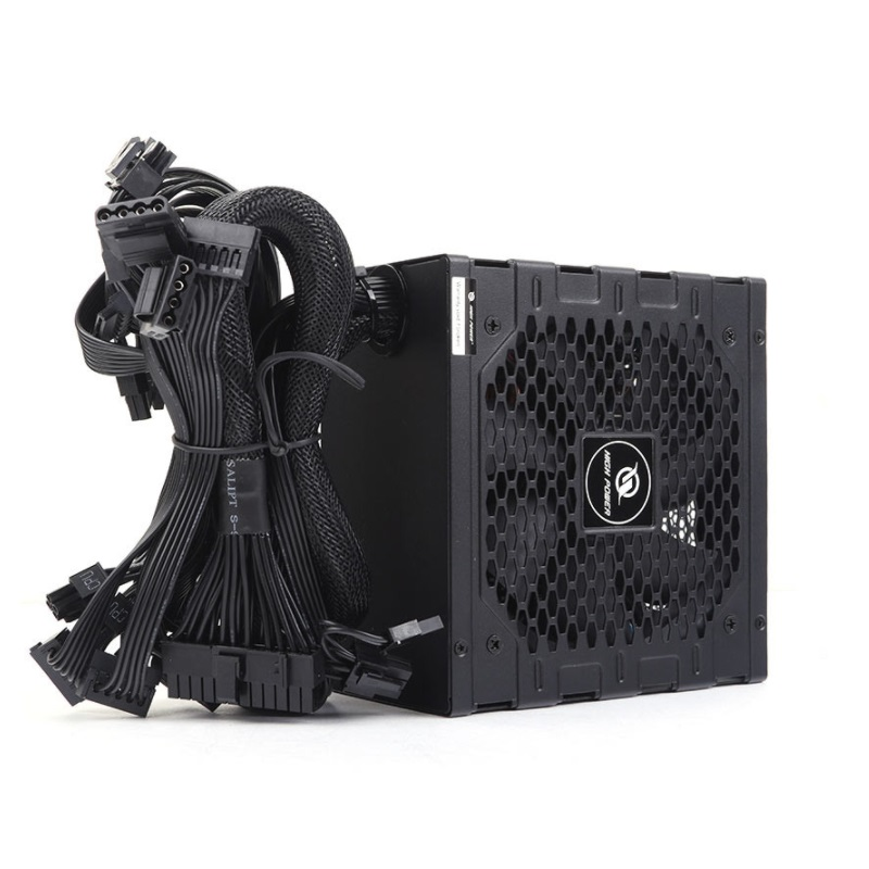 Hıgh power 750w 80 bronze element-dd hp1-m750br-h12s 12cm fanlı power supply