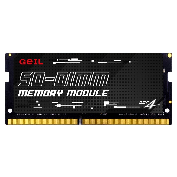 GEIL 16GB DDR4 2666MHZ CL19 NOTEBOOK RAM GS416GB2666C19SC