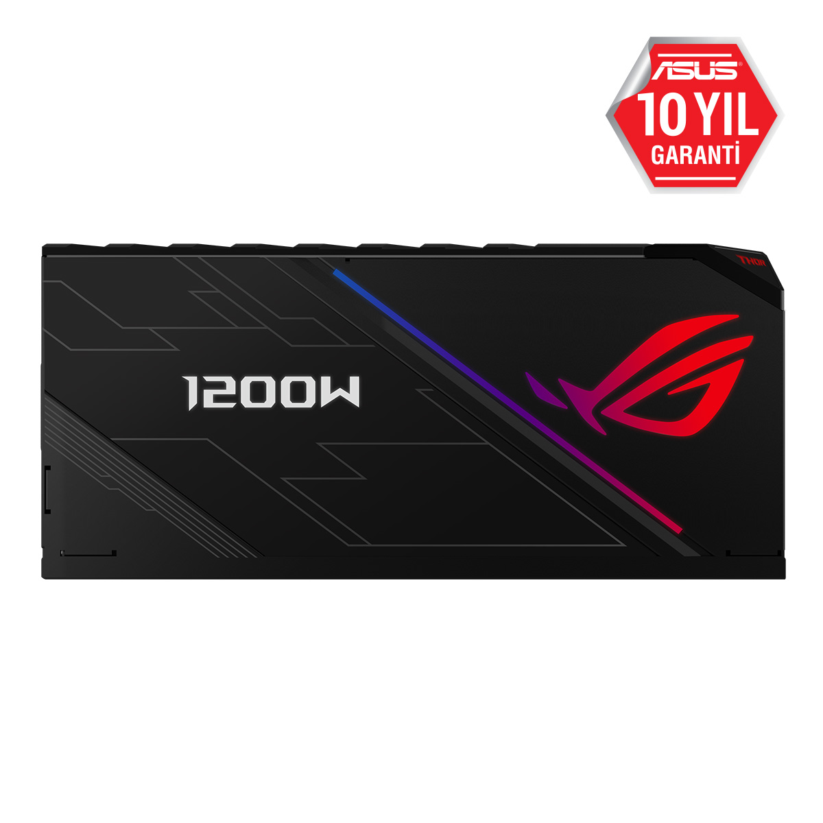 ASUS 1200W 80 PLATINUM ROG TOR 13.5cm Fanlı Tam Modüler Power Supply Japon Kapasitör