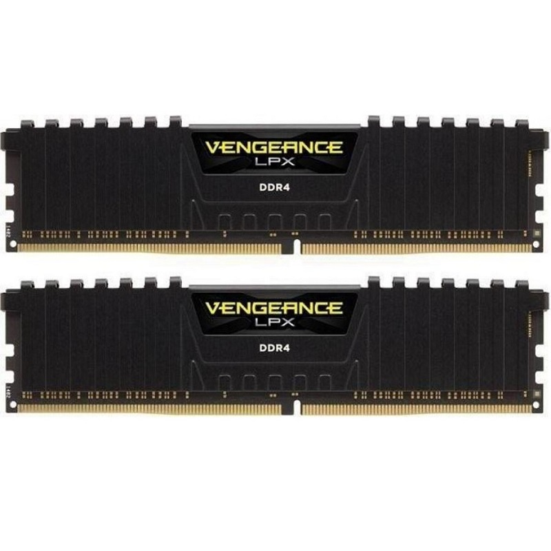 CORSAIR 16GB 2X 8GB DDR4 3000MHZ CL15 DUAL KIT PC RAM VENGEANCE LPX CMK16GX4M2B3000C15