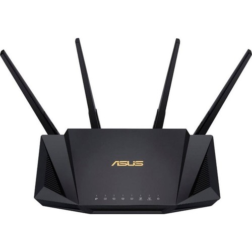 ASUS RT-AX58U 3000mbps AX3000 Dual Band Gaming Router 4x harici anten Kutu Açık Outlet
