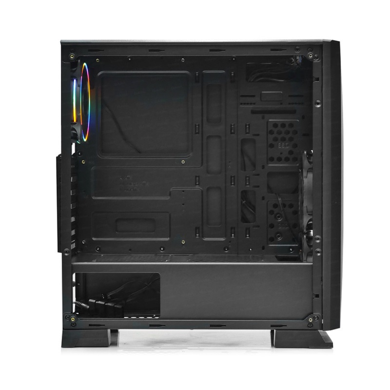 DARK 400W RAIDER 3X RGB Fanlı Mid-Tower Gaming PC Kasası DKCHRAIDER400