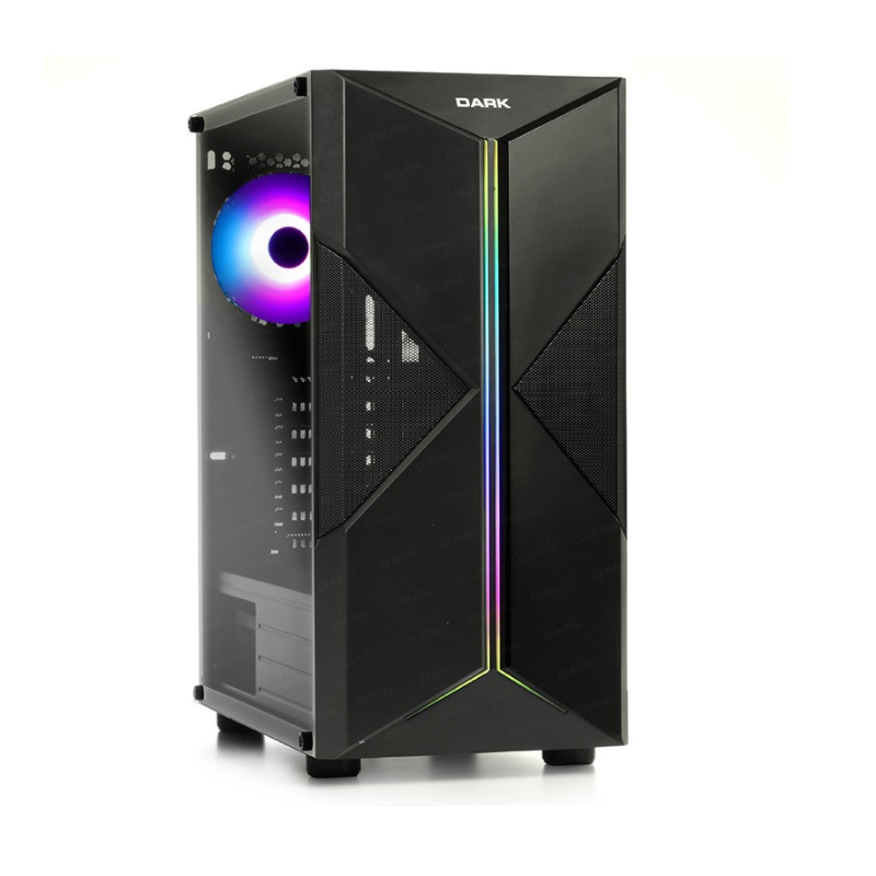 DARK 500W 80 BRONZE X-FORCE 3X A-RGB Fanlı Mid-Tower Gaming PC Kasası DKCHXFORCE580BR