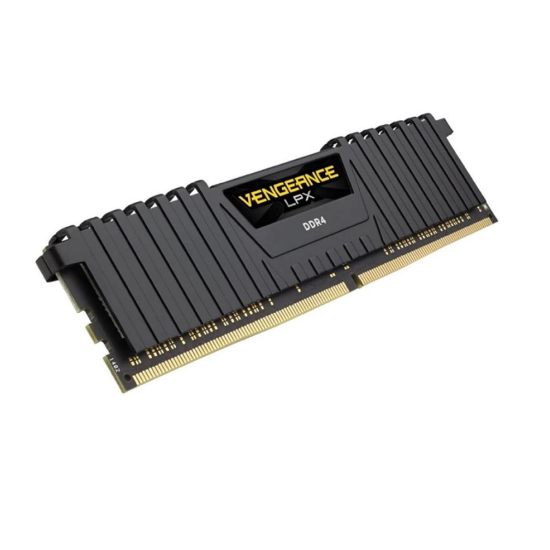 CORSAIR 16GB DDR4 2666MHZ CL16 PC RAM VENGEANCE LPX CMK16GX4M1A2666C16