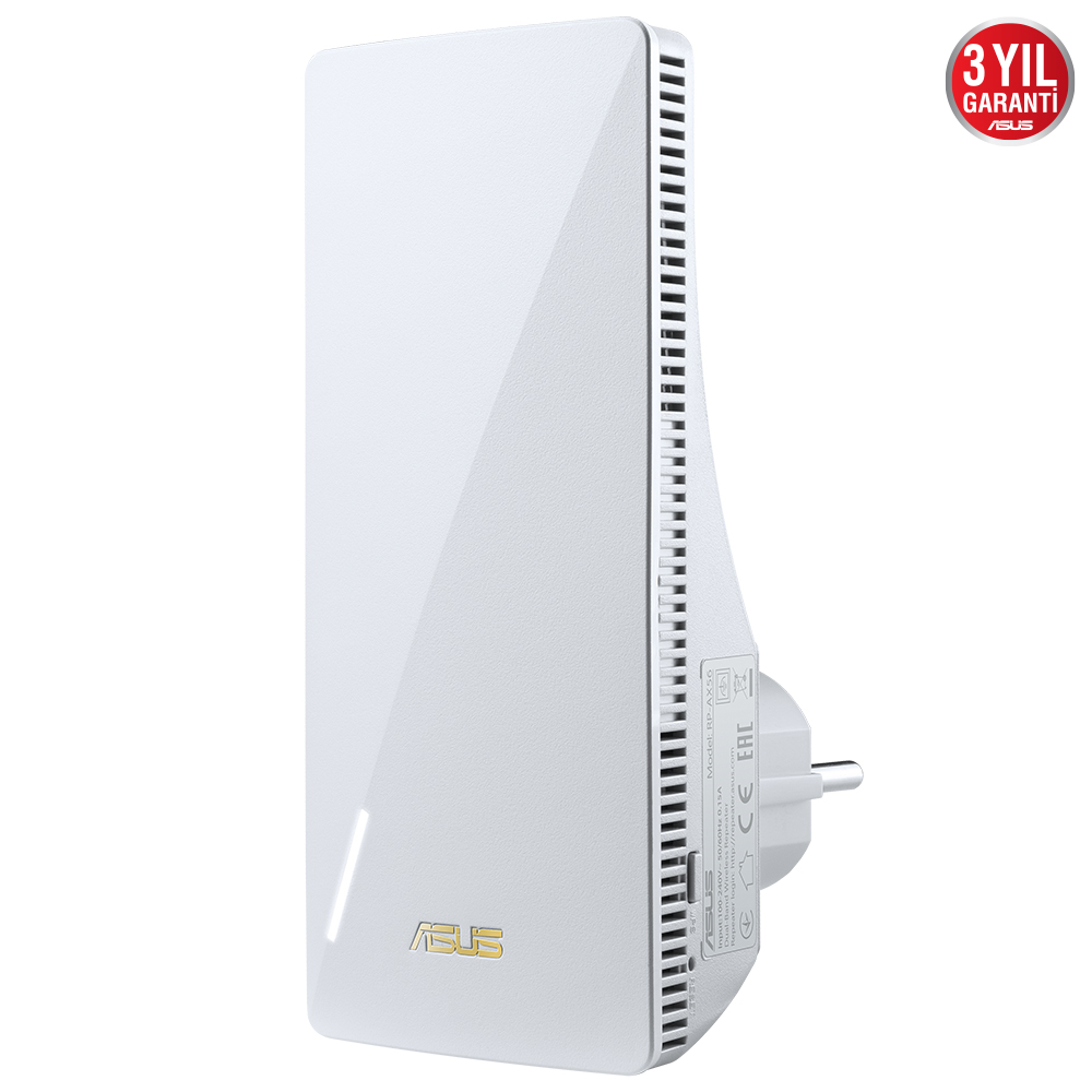 ASUS RP-AX56 1800mbps AX1800 Dual Band EV Ofis Tipi Router Priz Tip